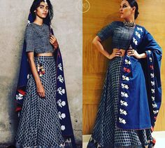 Neha Dhupia # Natasha j Label # indigo love # Bollywood fashion