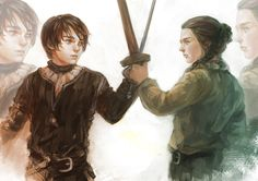 Arya Stark is the youngest daughter of Eddard Stark; as a member of House Stark she resides in Winterfell in the North of Westeros. Arya Stark, Eddard Stark, Game Of Thrones Series, Game Of Thrones Art, Narnia, Power Rangers, Game Of Trone, Avengers, Daenerys Targaryen