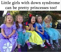 Beautiful sweet little girls with Down Syndrome. Precious Children, Beautiful Children, Beautiful Babies, Beautiful People, You're Beautiful, Beautiful Things, Little People, Little Ones, Little Girls