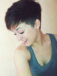 15 Pixie Cuts for Thick Hair | http://www.short-haircut.com/15-pixie-cuts-for-thick-hair.html