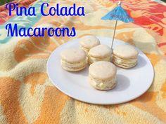 Pina Colada Macaroons
