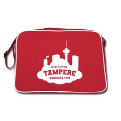 Makiatasku   Tampere vuodesta 1779 - Retrolaukku