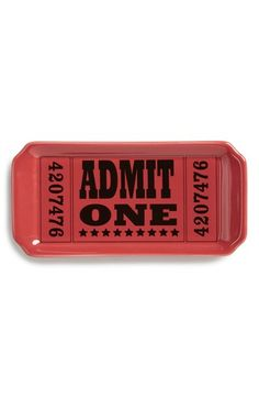 FISHS EDDY 'Admit One' Trinket Tray available at #Nordstrom