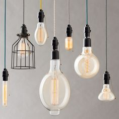 Vintage Light Bulb Covers