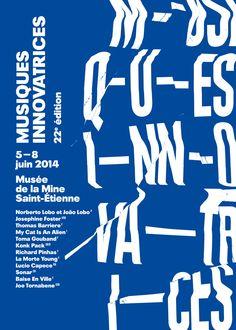 Festival des Musiques Innovatrices catalogue — studio