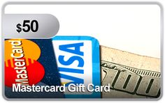 $50 Mastercard Gift Card #Auction