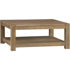 Edgewood Square Coffee Table in Coffee Tables & Side Tables | Crate and Barrel
