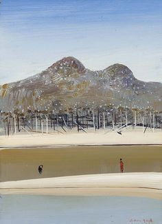 Arthur Boyd - his colours are so ace. Abstract Landscape Painting, Landscape Drawings, Landscape Art, Landscape Paintings, Australian Painting, Australian Artists, Arthur Boyd, Postmodern Art, Colonial Art
