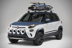 Fiat Teams Up With Vans To Create Awesome All-Terrain Surfing Vehicle