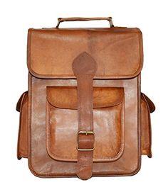 4fe8f51d5e Vintage Bag Leather Handmade Vintage Style Backpack College Bag Goatstuff  http   www