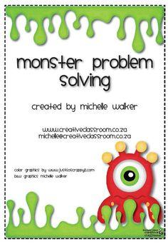probl�mes de monstres