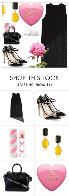 """""""Spring"""" by caticorn16 ❤ liked on Polyvore featuring DAMIR DOMA, Salvatore Ferragamo, Aquolina, 1st & Gorgeous by Carolee, Givenchy, Spring, springfashion, springflorals, springperfume and Spring2017"""