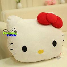 Hello Kitty Back Car Office Lumbar Support Plush Cushions Nap Pillow