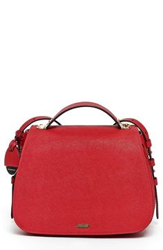 HAYDEN-HARNETT 'Denueuve' Saffiano Leather Crossbody Bag available at #Nordstrom