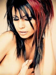 edgy hair color ideas permanent | Multi Tonal Hair Color Ideas for 2012