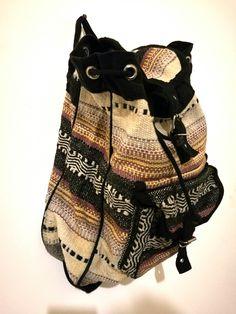 Bohemian bagpack vintage