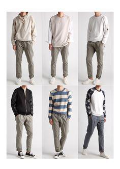 how to build a minimalist wardrobe for men 38 Korean Fashion Men, Mens Fashion, Minimalist Wardrobe, Men Style Tips, Minimal Fashion, Mens Clothing Styles, Men Casual, Menswear, Stefan Janoski