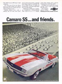 '69 Camaro SS Pace Car