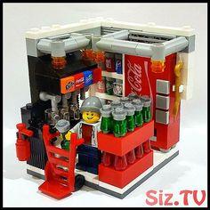 Fast Food Getränke - # Getränke - - Lego Dibujo - - Decoration and Outfits Lego Modular, Lego Design, Pokemon Lego, Lego Mini, Lego Hacks, Casa Lego, Lego Food, Lego Furniture, Furniture Depot