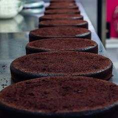 Yo's Ultimate Chocolate Cake. Rich, firm, and dense.