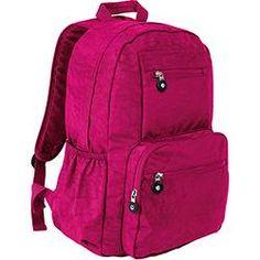 Mochila para Notebook Multilaser Teen em Nylon Rosa - Até 15,6