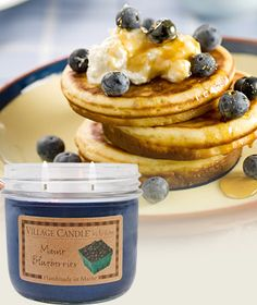 Maine Blueberries-Kitchen Scented Candles | Village Candle