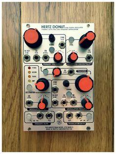 MATRIXSYNTH: The Harvestman Hertz Donut MK2 Dual Oscillator Eurorack Synthesizer Module