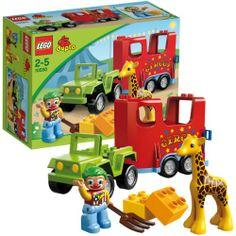 LEGO 10550 DUPLO: Zirkustransporter  http://www.meinspielzeug24.de/lego-10550-duplo-zirkustransporter  #LEGODUPLO, #Unisex #KleinkindSpielzeug, #Spielwaren