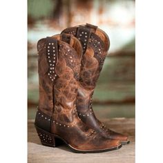 ARIAT 15035 EMBROIDERED FLORAL FATBABY LEATHER OSTRICH COWBOY