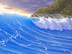 Scott Christensen seascape paintings