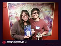 dynamic duo at Escapedom