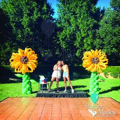 Theme Nature, Balloon Flowers, Balloons, Sculptures, Asia, Baby Shower, Babyshower, Globes, Balloon