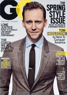 1add464b6701e Image result for GQ Magazine covers Thomas William Hiddleston