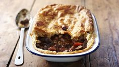 Good meat, good beer and good pastry – it's clear why this steak and ale pie is a winner.