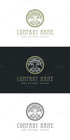 Celtic Tree of Life. Logo Templates. $29.00