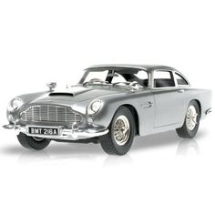 The iconic Aston Martin DB5, in the distinctive Silver Birch color, was Bond's car of choice in the film and has appeared in six James Bond films to date includ