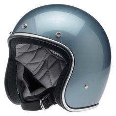 BILTWELL INC BONANZA Retro Open-Face Motorcycle Helmet (Gloss Blue Steel) Medium | eBay Motors, Parts & Accessories, Apparel & Merchandise | eBay!