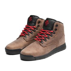 SUPRA BACKWOOD Shoe | BROWN - BLACK | Official SUPRA Footwear Site