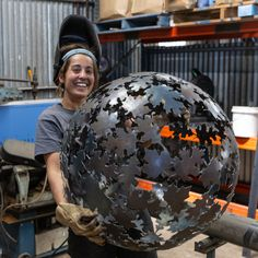 We are able to facilitate courses covering indoor & outdoor sculpture, ephemeral installations, botanic installations, functional sculpture, and of course most forms of sculpture involving metalwork. Metal Art Sculpture, Steel Sculpture, Outdoor Sculpture, Garden Sculpture, Metal Fab, Metal Art Projects, Metal Working Tools, Steel Art, Welding Art