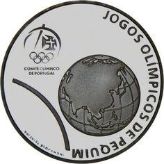 2,50 Euro Silber Olympische Spiele Peking PP