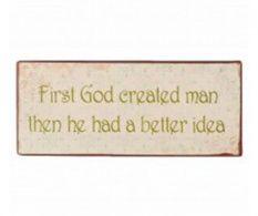 Dekorácia God Created