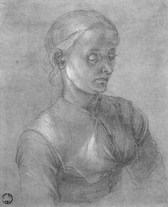 Albrecht Durer   Porträt einer Frau (Agnes Dürer)