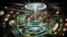 Bbc one - doctor who, series the tardis: concept art Tardis Wallpaper, Doctor Who Wallpaper, Hd Wallpaper, Desktop Wallpapers, Doctor Who Tardis, Die Tardis, Doctor Who Art, Tardis Blue, First Doctor