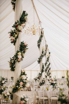 30 Elegant Wedding Decor Ideas That Will Create Chic Atmosphere ❤ See more: http://www.weddingforward.com/elegant-wedding-decor/ #weddings #decorations