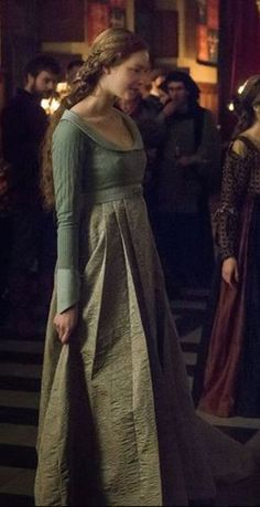 the white Queen (Movie) - Elisabeth of York - Daughter of Edward IV and Elizabeth Woodville.