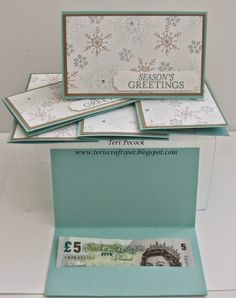 Quick Gift Card Holder or Money Wallet - With Endless Wishes