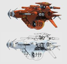 ArtStation - Chris Foss inspired design using a Sparth inspired type rendering :P, David Levy