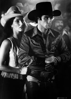 Urban Cowboy 1980 John Travolta Debra Winger Image 4 Old Movies, Great Movies, Awesome Movies, Vintage Movies, Picture Movie, Movie Tv, Urban Cowboy Movie, Debra Winger, An Officer And A Gentleman