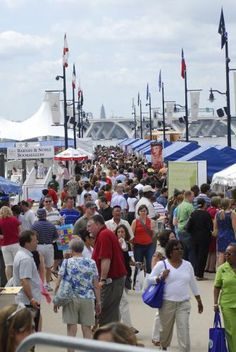May 5 & 6, 2012: National Harbor Wine & Food Festival right across the bridge --- sample a little bit of this & that. For real sit down eats, purchase the extra dining tickets or a two day hopper. Will you be able to make it through all of the great DC events this Cinco wknd?