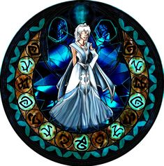 Kida KH Stained Glass by ~bummi1 on deviantART